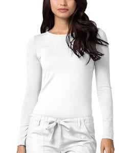 ADAR UNIFORMS Adar Womens Comfort Long Sleeve T-Shirt