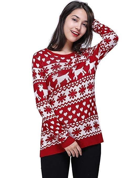 f20dac9fd5cc Best Christmas Sweaters for Women in 2019 - Trendy Brands for Winter