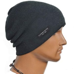 FORBUSITE Cool Men Roll Knit Beanie