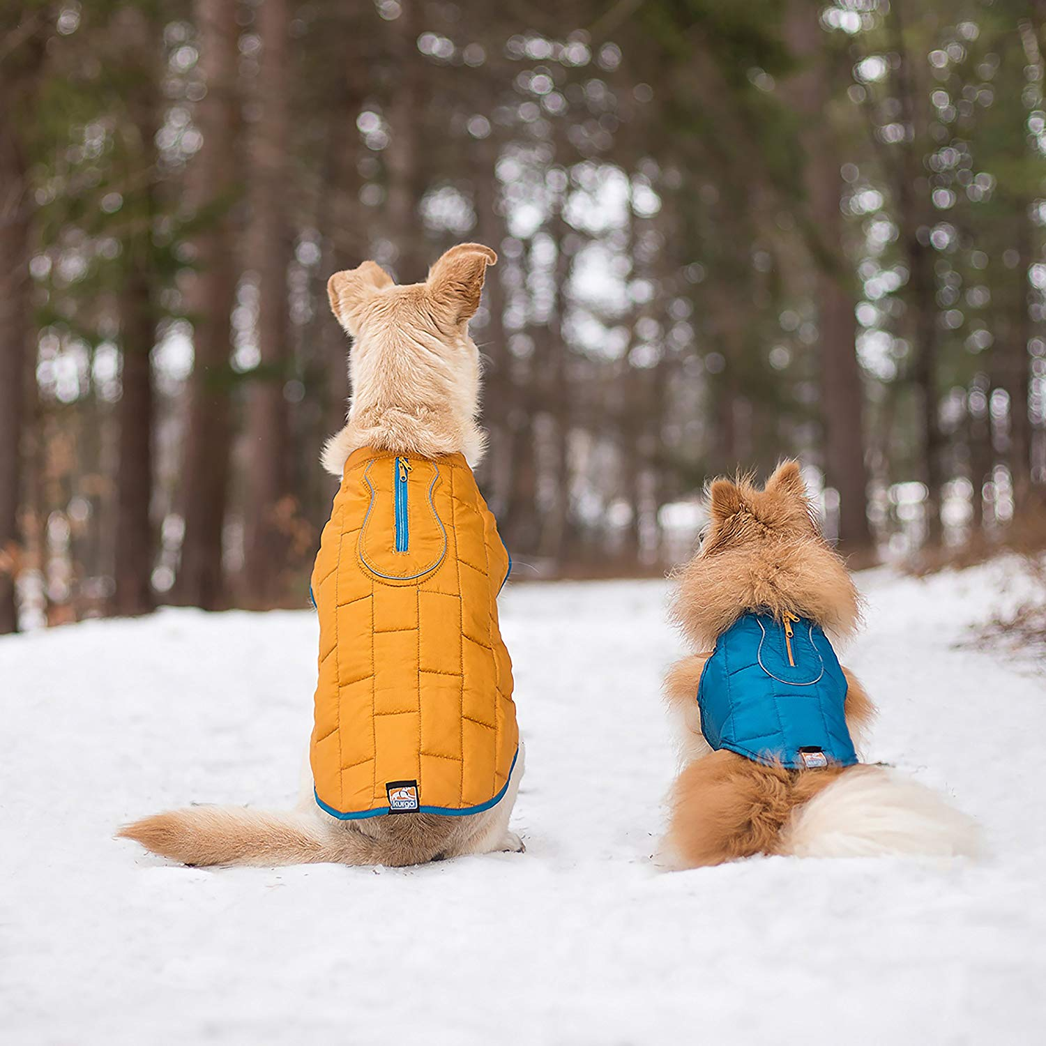 Kurgo Loft REVERSIBLE Water-Resistant Dog Jacket