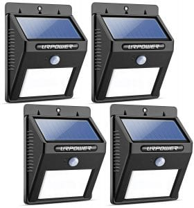URPOWER-8-LED-Solar-Lights-Wireless-Waterproof-Motion-Sensor-Outdoor-Light-4-pack