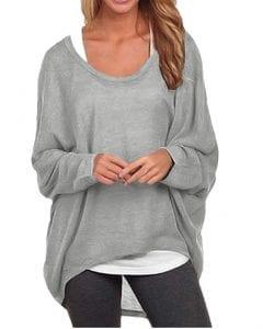 ZANZEA Women's Sexy Long T-Shirt