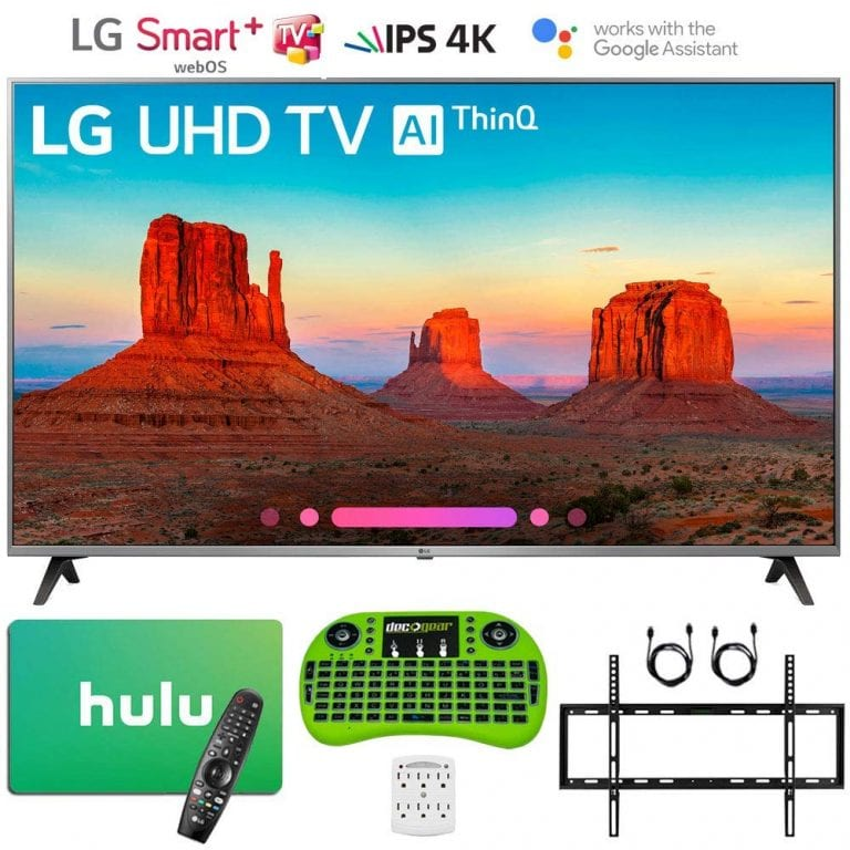 2018 LG 65UK7700PUD 65″ Class 4K HDR Smart LED TV