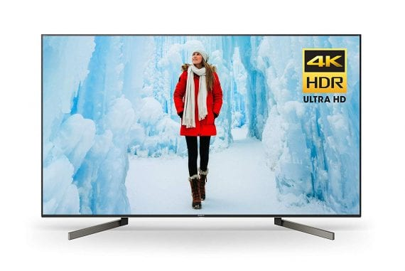 2018 Sony XBR65X900F 65-Inch 4K Ultra HD Smart LED TV