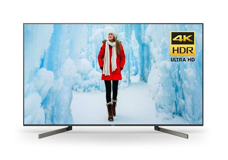 2018 Sony XBR65X900F 65-Inch 4K Ultra HD Smart LED TV
