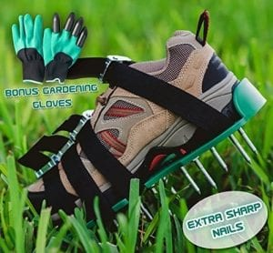 Andes Broos Lawn Aerator Spiked Shoes