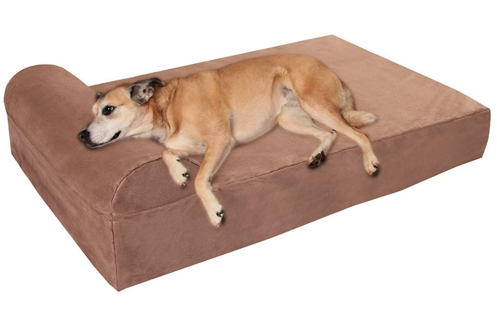 Big Barker Orthopedic Dog Bed for Large and Extra Large Breed Dogs