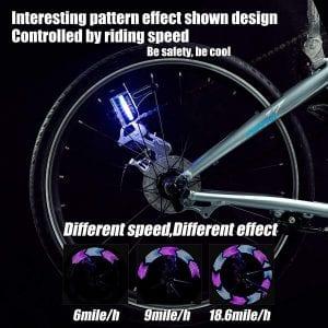 DAWAY LED Bike Spoke Lights