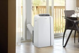 Dual Hose Portable Air Conditioner