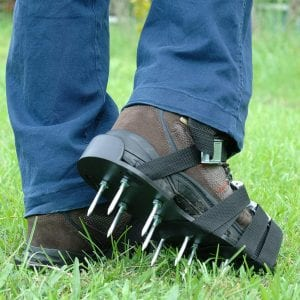 Gardenite Heavy Duty Lawn Aerator Shoes