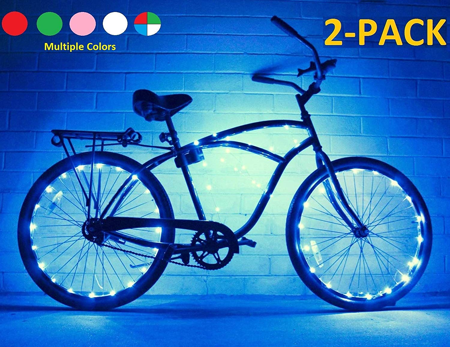 GlowRiders (2 Pack) Ultra Bright LED