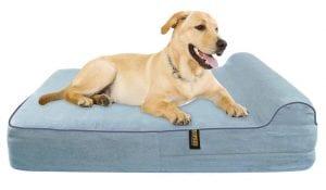 KOPEKS - Orthopedic Memory Foam Dog Bed- with Pillow