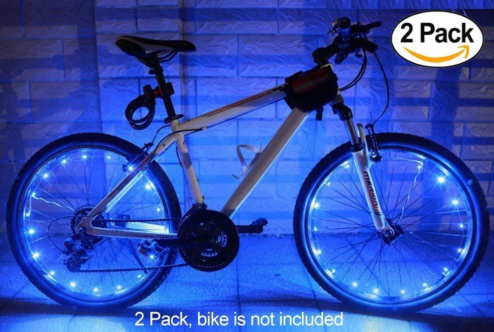 MAGINOVO 2 Pack Led Bike Wheel Light