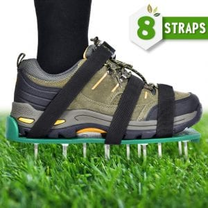 Nosiva Heavy Duty Spiked Lawn Aerator Shoes