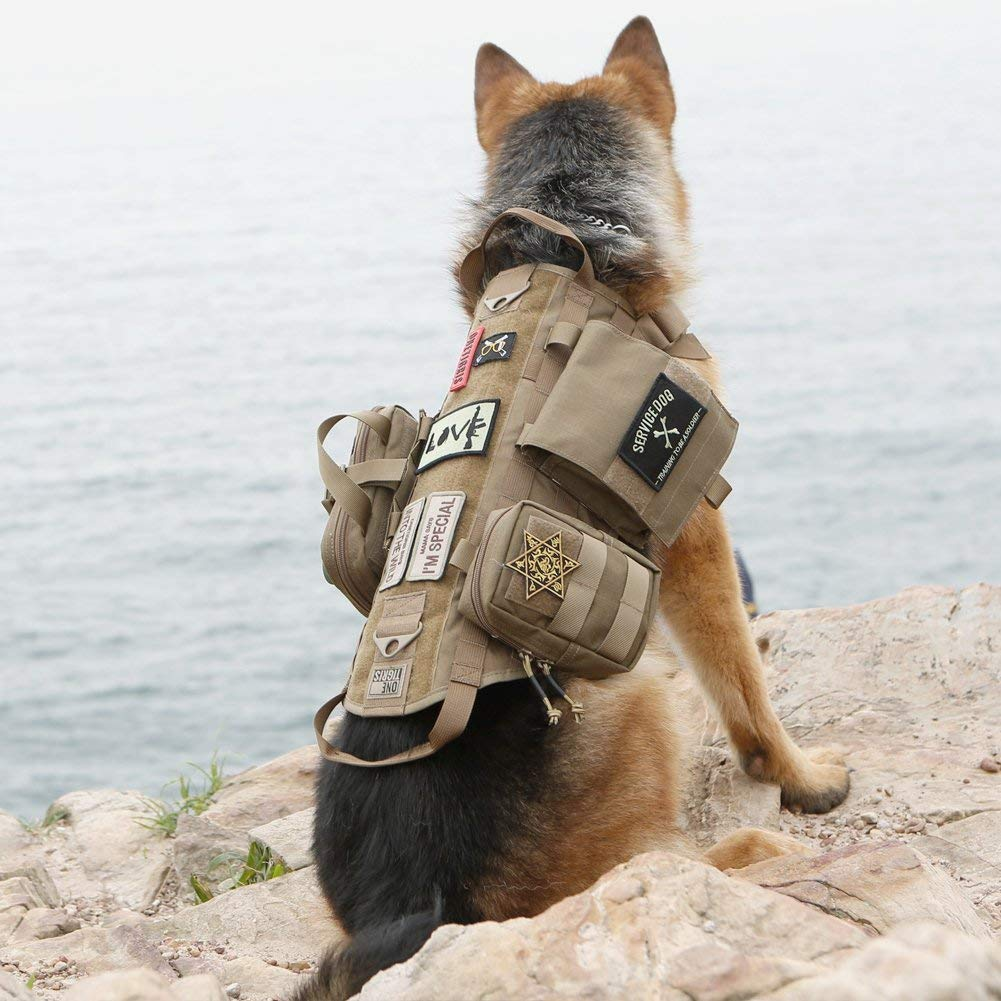 OneTigris Tactical Dog Molle Vest Harness