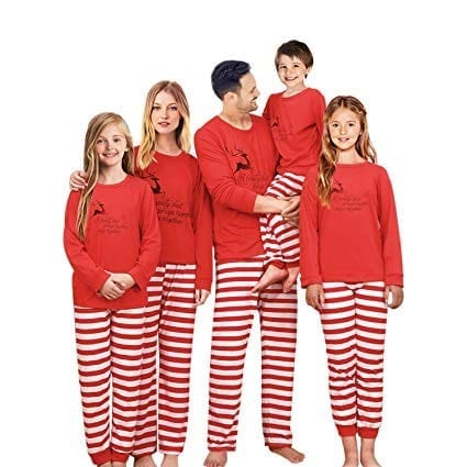 SUNNYBUY Family Christmas Pajamas Set