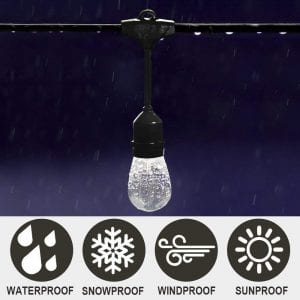 SUNTHIN 48ft String Lights