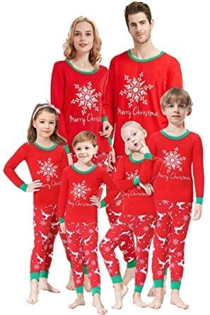 Shelry Matching Family Pajamas Christmas Boys and Girls