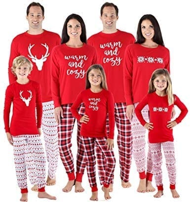 SleepytimePjs Holiday Mix Match Family Matching Sleepwear Pajamas
