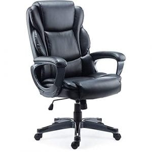 Staples Mcallum Leather Managers Chair