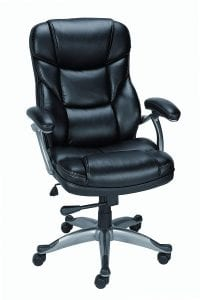 Staples Osgood? Bonded Leather Managers High Back Chair