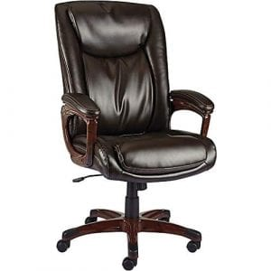 Staples Westcliffe Bonded Leather Managers Chair