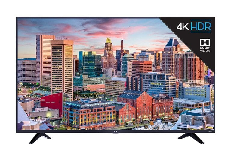 TCL 49S517 65-Inch 4K Ultra HD Roku Smart LED TV