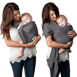 4 in 1 Baby Wrap Carrier and Ring Sling by Kids N' Such