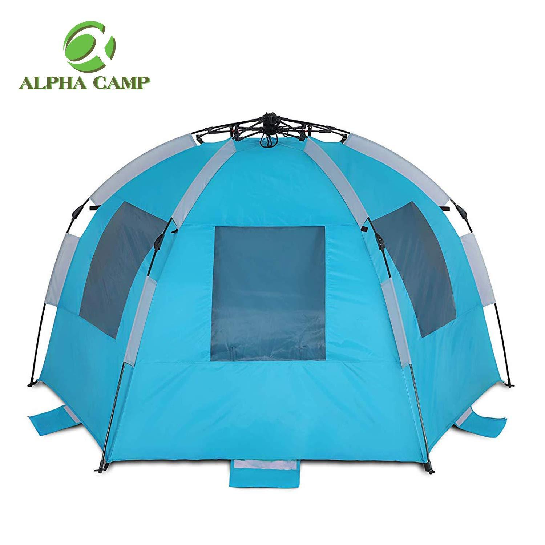 ALPHA CAMP Easy Setup Beach Tent