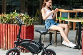 ANCHEER Folding Electric Bicycle