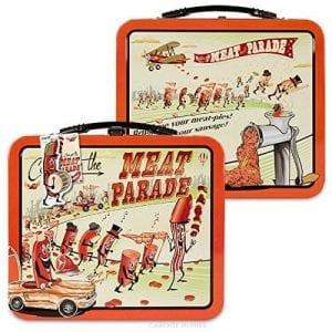 Accoutrements Meat Parade Metal Lunch Box – B00EZ7MIGI