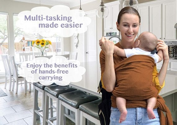 Baby Wrap Carrier for Newborn, Infants and Toddlers