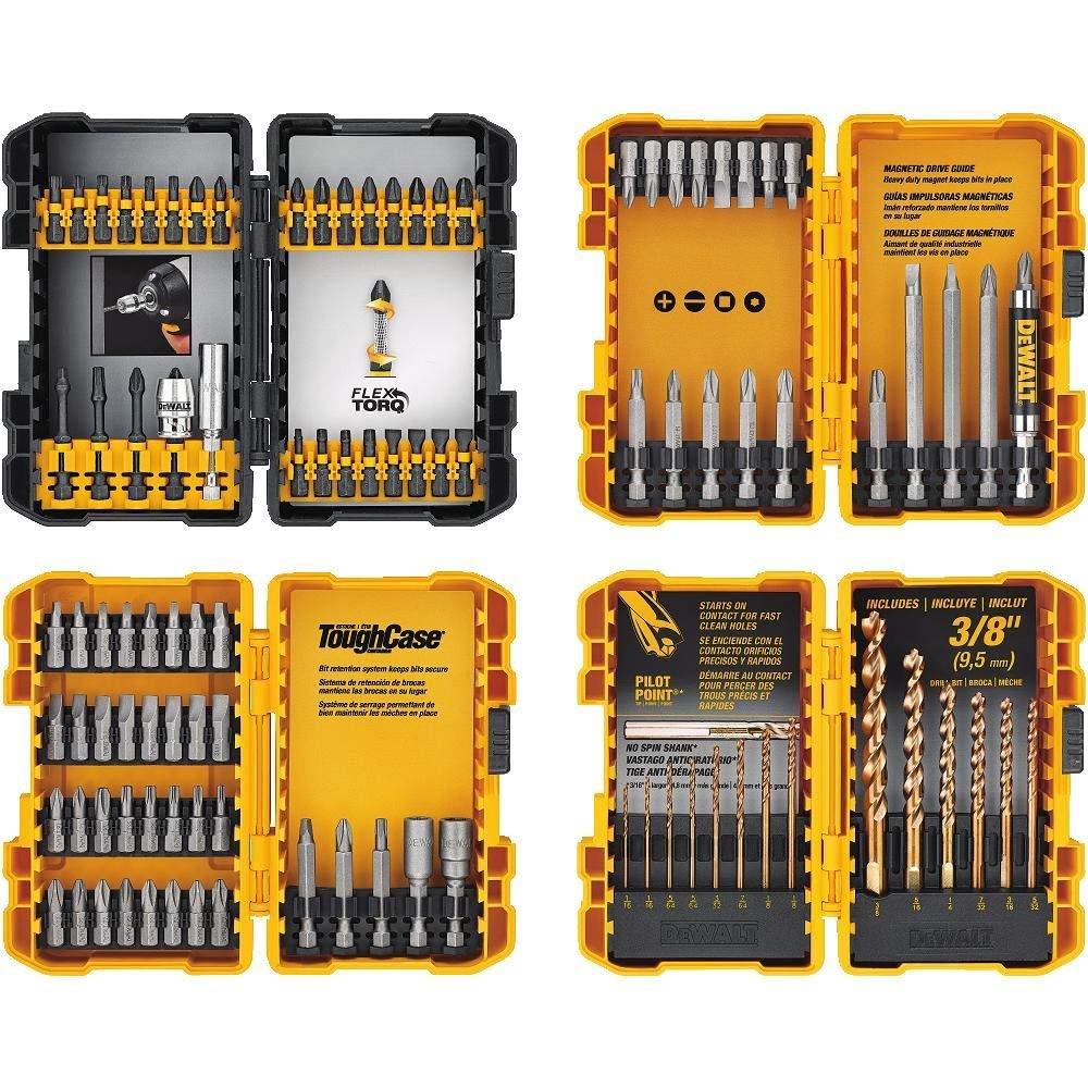 DEWALT DWA2FTS100 Screwdriving and Drilling Set