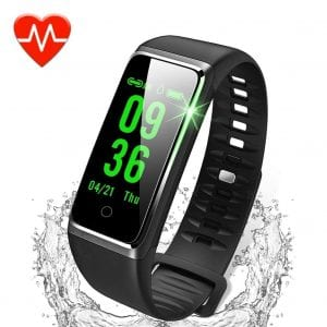 Dawo Activity Fitness Tracker with a color screen and heart rate monitor
