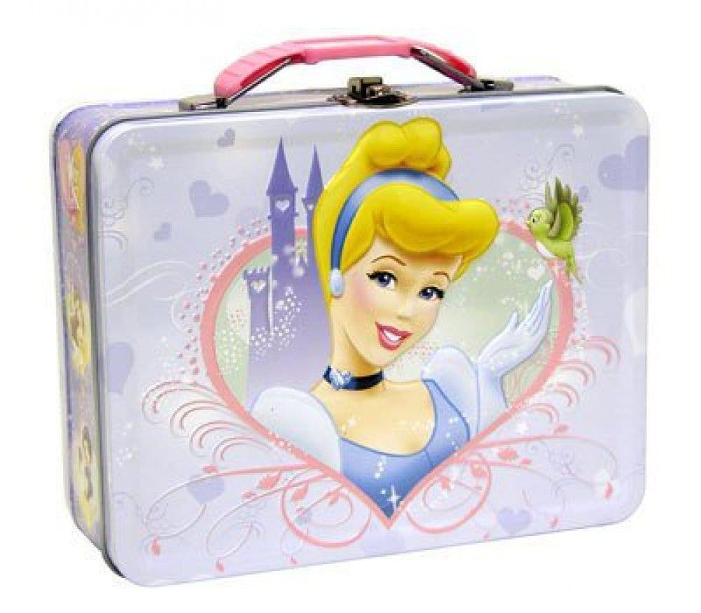 Disney Princess Cinderella Metal Girls Tin Lunch Box
