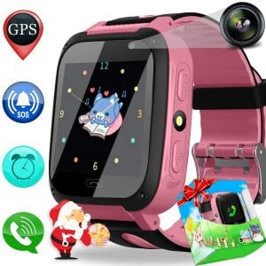 Duperym Smart Watch Phone GPS Tracker for Kids