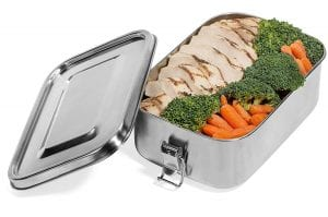 Leak Proof Stainless Steel Food Container -B01MFDGHN1