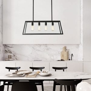 Light Society Morley 4-Light Kitchen Island Pendant