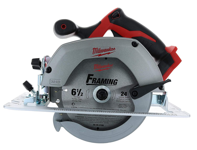 Milwaukee M18 2630-20 18 Volt 6-1/2 Circular Saw