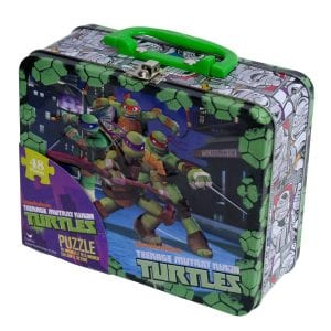 Nickelodeon TMNT Puzzle in a Lunch Box