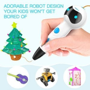Nulaxy 3D Pen, First Robot 3D Drawing Printing Printer Pen