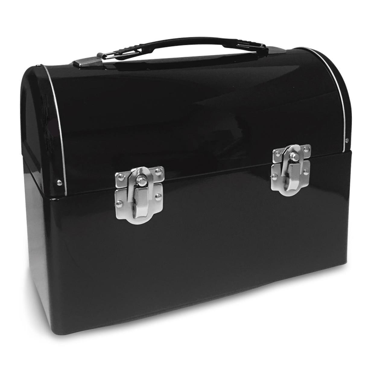 Plain Metal Dome Lunch Box - B00HRCXFTW