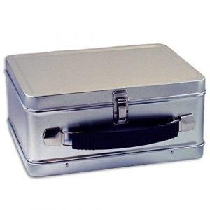 Plain Metal - Retro - Lunch Box