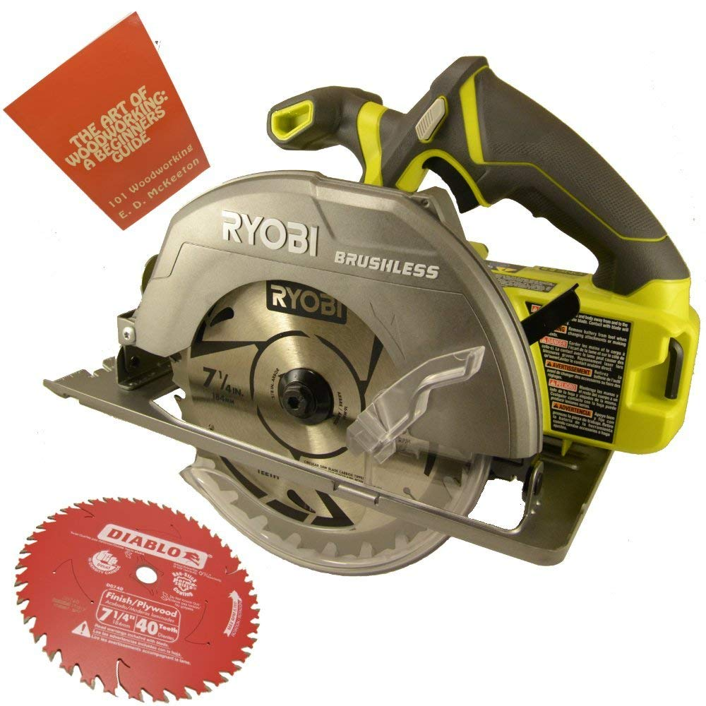 Ryobi P508 18-Volt One+ 7-1/4 inch Circular Saw