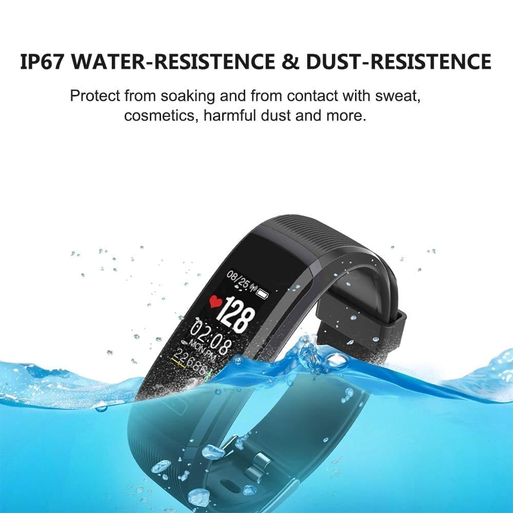 Temexe waterproof fitness tracker