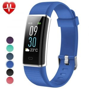 Willful IP68 waterproof fitness tracker
