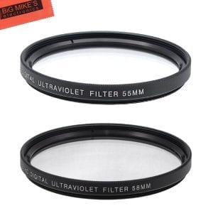 55mm and 58mm Protective Filter