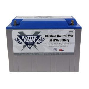Battle Born 100Ah LiFePO4 12V deep cycle battery