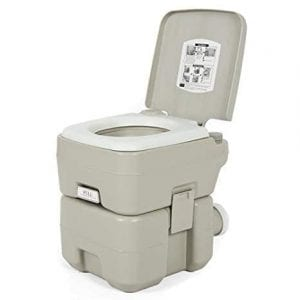 Best Choice Products Portable 5-Gallon Toilet