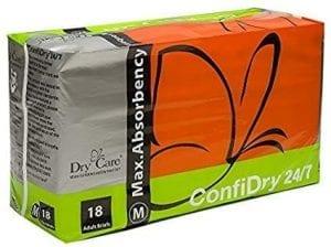 ConfiDry 24/7 Dry Care Adult Brief underwear